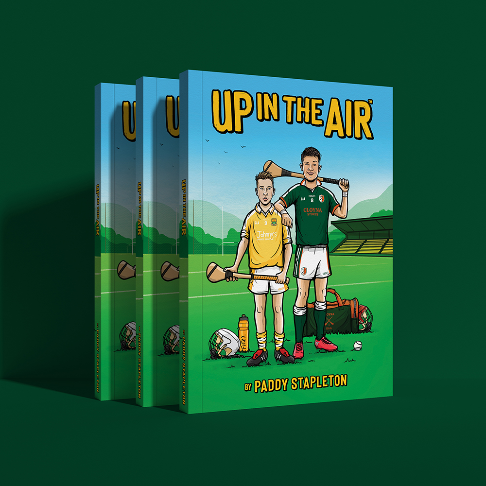 Up In The Air Book by Paddy Stapleton